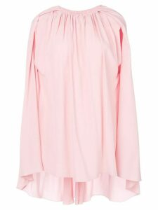 Marni cape sleeve blouse - PINK