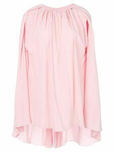 Marni cape sleeve blouse - PINK
