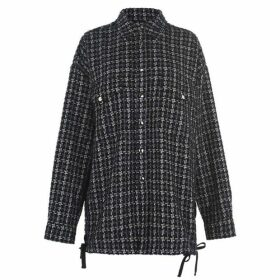 Faith Connexion Tweed Overshirt