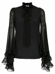 Isolda Sheila silk blouse - Black