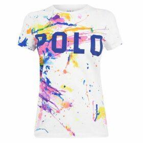 Polo Ralph Lauren Polo Pnt Spt Rl T SS Ld01