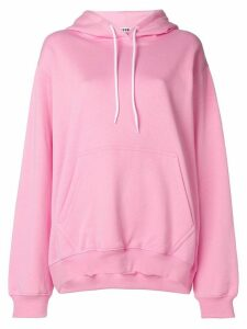 MSGM oversized hoodie - PINK