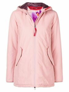 Freedomday short hooded jacket - PINK
