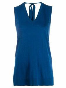 Pringle of Scotland tunic knit top - Blue