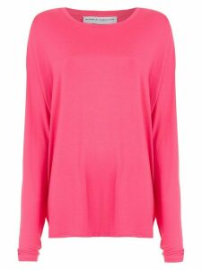 Gloria Coelho loose fit blouse - PINK