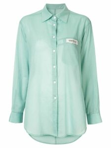 Kimhekim logo tag shirt - Green