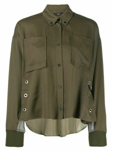 Diesel boxy-fit shirt - Green