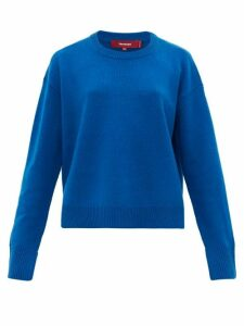 Sies Marjan - Pardis Crew-neck Wool-blend Sweater - Womens - Blue