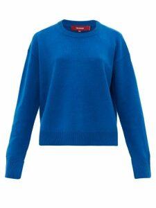 Sies Marjan - Pardis Crew-neck Wool-blend Sweater - Womens - Blue