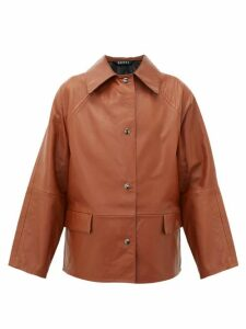 Kassl Editions - Reversible Leather Jacket - Womens - Brown