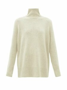 The Row - Sadel Roll-neck Cashmere Sweater - Womens - Beige