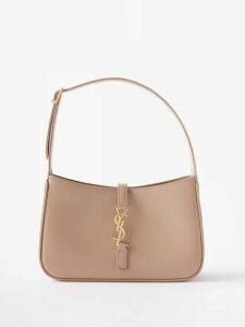 Raey - Tahiti Frayed-hem Denim Shorts - Womens - Light Blue