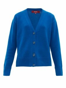 Sies Marjan - Olga V-neck Wool-blend Cardigan - Womens - Blue