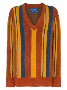 Simon Miller stripe V-neck jumper - 10074 MULTICOLOURED