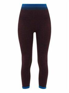 Lndr - Lunar Contrast-stripe Leggings - Womens - Purple
