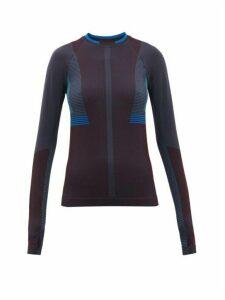 Lndr - Lunar Jacquard-knit Sweatshirt - Womens - Burgundy Multi