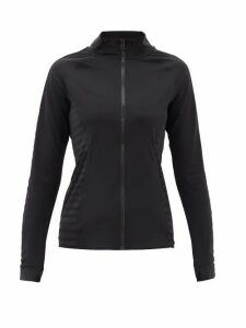 The Upside - Tasha Stretch Cotton-jersey Track Top - Womens - Black