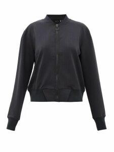The Upside - Monica Technical Jersey Bomber Jacket - Womens - Black