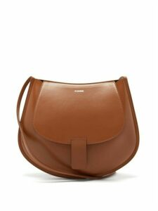 Jil Sander - Crescent Small Smooth-leather Cross-body Bag - Womens - Tan