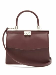 Rodo - Paris Medium Leather Bag - Womens - Burgundy