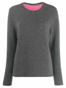 Chinti and Parker colour-block jumper - Grey