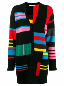 Chinti and Parker colour block cardigan - Black