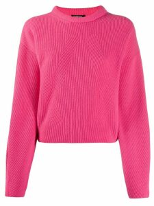 Canessa cashmere ribbed jumper - PINK