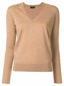 Joseph classic V-neck jumper - Brown