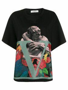 Valentino x Undercover kiss VLOGO T-shirt - Black