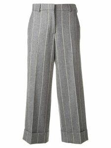 Thom Browne Shadow Stripe Sack Trouser - Grey