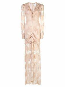 Alexis Lucasta lace dress - NEUTRALS