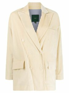 Jejia double breasted blazer - NEUTRALS