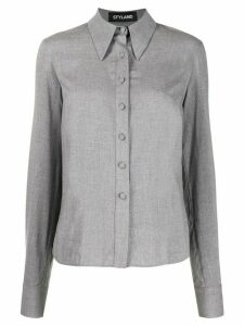 Styland pointed collar shirt - Grey
