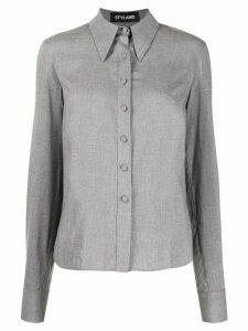 Styland pointed collar shirt - Grey