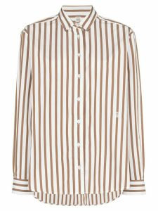 Totême Capri button-down striped shirt - Red