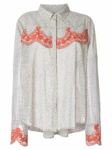 We Are Kindred Argentina dotted blouse - White