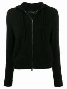 Theory cashmere zipped cardigan - Black