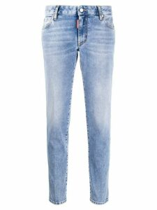 Dsquared2 bleached straight-leg jeans - Blue