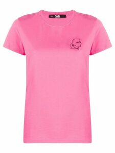 Karl Lagerfeld Mini Karl Profile T-shirt - PINK