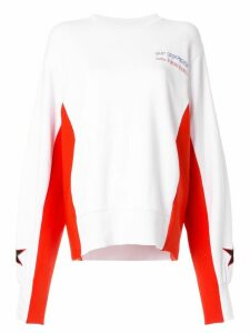 P.E Nation Turbo Charge sweater - White
