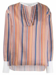 Victoria Victoria Beckham striped blouse - Blue