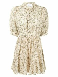 Sir. Annalie pleated mini dress - NEUTRALS