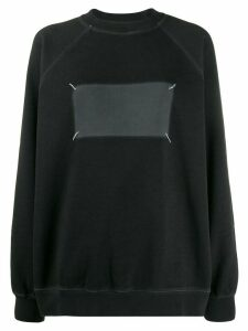 Maison Margiela 'Memory of' logo sweater - Black