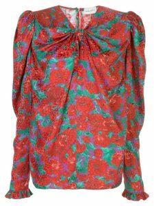 Magda Butrym Caserta blouse - Red