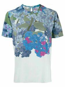Valentino floral print top - Blue