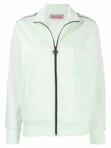 Chiara Ferragni Logomania logo track jacket - Green