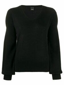 Pinko bishop sleeve jumper - Black
