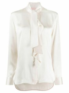 Paul Smith pussy bow blouse - NEUTRALS
