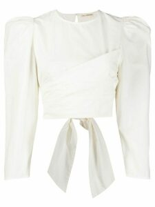 Ulla Johnson Eden balloon sleeve blouse - White
