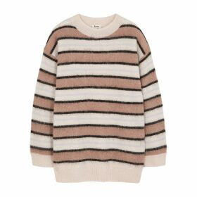 Acne Studios Karalynn Striped Fine-knit Jumper